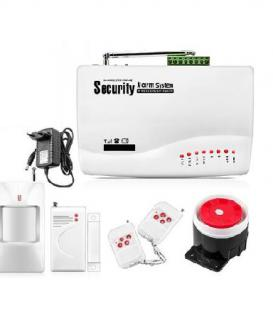 BR-604G Wireless Home Security GSM Alarm System Kits Remote Control Autodial