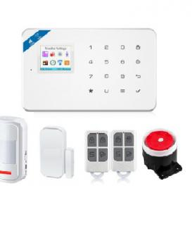BR-W18  1.7 Inch TFT Screen WIFI GSM Home Burglar Security Alarm System