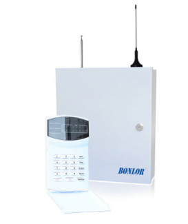 BR-7016-E PSTN GSM SMS Alarm system 433MHz 16 wire and wireless zones LED keypad burglar alarm