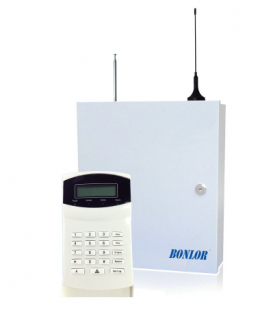 BR-7016-E PSTN GSM SMS Alarm system 433MHz 16 wire and wireless zones LCD keypad burglar alarm