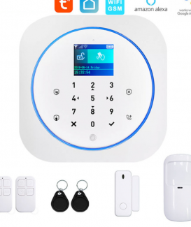 BR-G12 Tuya WIFi Gsm alarm security system